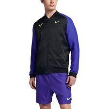 Nike Rafa Performance Tennis Jacket Blue Mens Size XL New