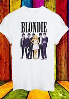 Debbie Harry Blondie Singer Rock Pop Disco Music Men Women Unisex T-shirt 70