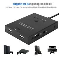 Mouse and Keyboard Converter Adapter for PS4/XBO XONE Switch Device JS