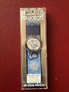 1994 Vintage Pop swatch watch Patching  PMN103 Excellent Unworn In Box