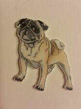 Flat Back Resins (2 For $1.50) Pug Dogs, Puppy, Crafts Hair Bows Scrapbooking