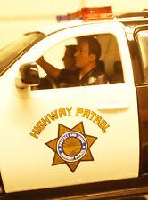 23826 American Diorama poliziotto HIGHWAY POLICE set of 2 2 pezzi 1:24