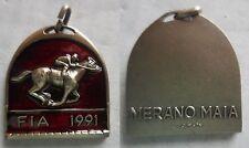 medaglia cavalli allevatori FIA 1991 Merano