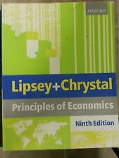 Principles of Economics Paperback by Lipsey 1999  9TH ED