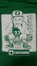 Boston Celtics Larry Bird Converse  XL Screen Stars T Shirt  21.5 x 24.5