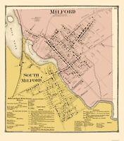 Milford South Delaware - Beers 1868 - 23.00 x 26.12