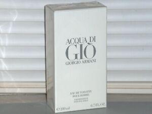 ACQUA DI GIO GIORGIO ARMANI Men's 6.7 oz 200 ml eau de Toilette Spray NEW SEALED