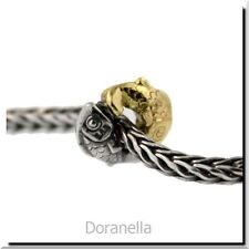 Trollbeads Silver & 18K Gold 41814 Happy Fish, Silver & Gold :0 RETIRED