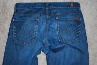 Men's Seven 7 for All Mankind Austyn Dark A-Pocket Fade Denim Jeans (34)
