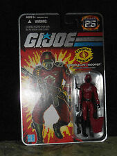 "Gi Joe 25th Anniversary 3 3/4"" figure Cobra Elite Trooper Crimson Guard"