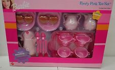 Mattel Barbie Pretty Pink Tea Set NIB NRFB P5