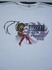 BLIZZ CON 2011 Cosplay Dinner 2XL T-SHIRT xxl blizzard