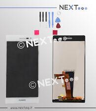 Touch screen + schermo Lcd Huawei P7 bianco + kit riparazione