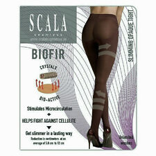 SCALA BLACK SLIMMING TIGHTS/SHORTS L or XL Brazilian Bio Yarn, fight Cellulite!