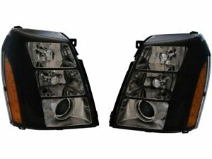Headlight Set For 2007-2014 Cadillac Escalade ESV 2008 2009 2010 2011 Z552FY