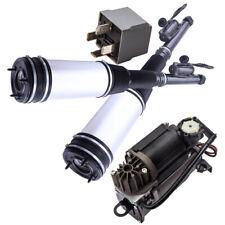 Paar Hinten Luftfederung + Kompressor Für Mercedes S Klasse W220 airmatic NEU