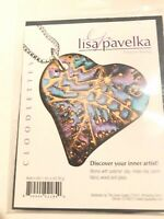 Lisa Pavelka Texture Stamp CLOODLETTES Polymer Clay Paper Fabric Wood Glass