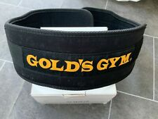Gold's Gym Weight Lifting Back Support Fitness Belt Size L