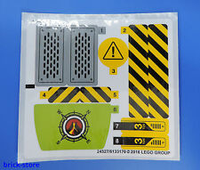 LEGO® (37) Sticker 60122 / Aufkleber  City  Komplett