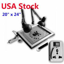 Usa 20 X 24 Uv Exposure Unit Screen Printing Plate Making Silk Screening