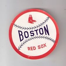 Original 1950's Boston Red Sox 3-Inch Diameter Decal Ted Williams