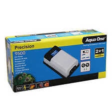 Precision 9500 Aquarium Air Pump 10047 Fish Tank Aqua One