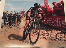 John Degenkolb Giant Alpecin Cycling Autographed 8x10 Paris Roubaix
