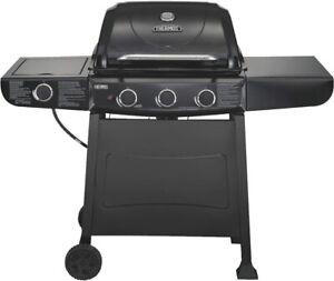 Char-Broil 461770719 Thermos Quickset 3-Burner Gas Grill, Black