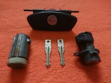 SMART ROADSTER LOCK SET WITH TWO KEY BLADES - IGNITION, GLOVEBOX, EMERGENCY LOCK
