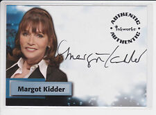 2005 SMALLVILLE SEASON 4 AUTO: MARGOT KIDDER #A28 AUTOGRAPH LOIS LANE - SUPERMAN