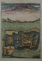 Canisha - Ungarn - Nagykanizsa - Von Alain Manesson Mallet - Original von 1720