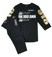 NEW DIESEL Kids RRP 159 AGE 14 YEARS Boys Designer Set Jeans Tshirt Top B423