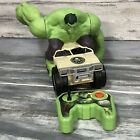 Marvel Avengers Remote Control Hulk Smash Car Toy R/C Jakks Pacific 2015 WORKS