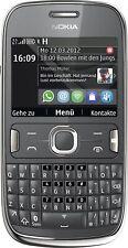 Nokia Asha 302 Dark Gray Neuware DE Händler sofort lieferbar ohne Vertrag