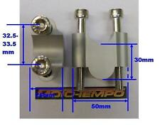 CNC 30mm BAR RAISERS RISERS FOR Suzuki DRZ400 DR-Z400 Trial or SM 00 to 09