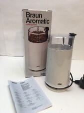 Braun Aromatic Coffe Grinder Boxed KSM2 White