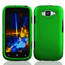 Samsung Focus 2 i667 Rubberized HARD Protector Case Snap Phone Cover Dark Green