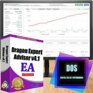 EA forex Dragon Expert Advisor 4.1 reliable and profitable for MT4
