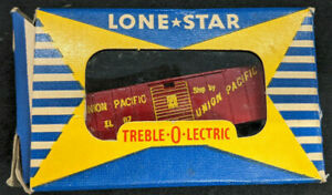 Lone Star Locos: Treble-O-Lectric BOXCAR UNION PACIFIC. OOO gauge N, Die Cast