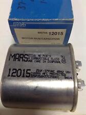 MARS 25UF/370VAC MOTOR RUN CAPACITOR 12015 NIB, LOT OF 2 *PZB*