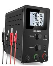 Bench Power Supply 0 30v 0 10a Adjustable Dc Power Supply Kit 4 Digital