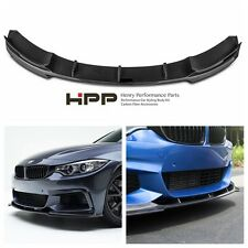 For BMW F32 F36 M-tech sport 330 Carbon Fiber Front Lip Spoiler V Style