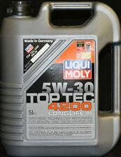 5 Liter Liqui Moly TOP TEC 4200  5W-30 VW Longlife-3  5W30 Motoröl BMW LL-04