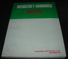 Werkstatthandbuch Daihatsu Applause HD Motor HD-Motor Stand September 1989