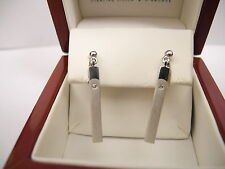 Colibri DARING DIAMONDS STERLING SILVER EARINGS W/DIAMOND NEW  REDUCED