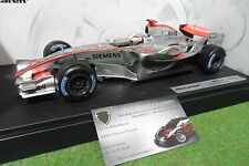 F1 McLAREN MERCEDES MP4-21 RAÏKKÖNEN #3 de 2006 au 1/18 HOT WHEELS J2984 formule
