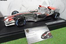 F1 McLAREN MERCEDES MP4-21 RAÏKKÖNEN #3 de 2006 au 1/18 HOT WHEELS J2984 formule