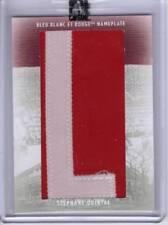 2008/09 Stephane Quintal Nameplate Memorabilia 1/1