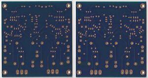 Stereo amplifer PCB Hiraga super 30W class A w/ current source + kubota reg !!