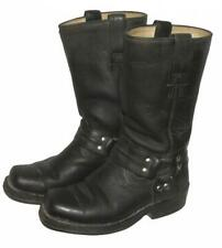 PARAISO BOOTS Damen- Western- Stiefel / Biker- Lederstiefel in schwarz ca. 35,5